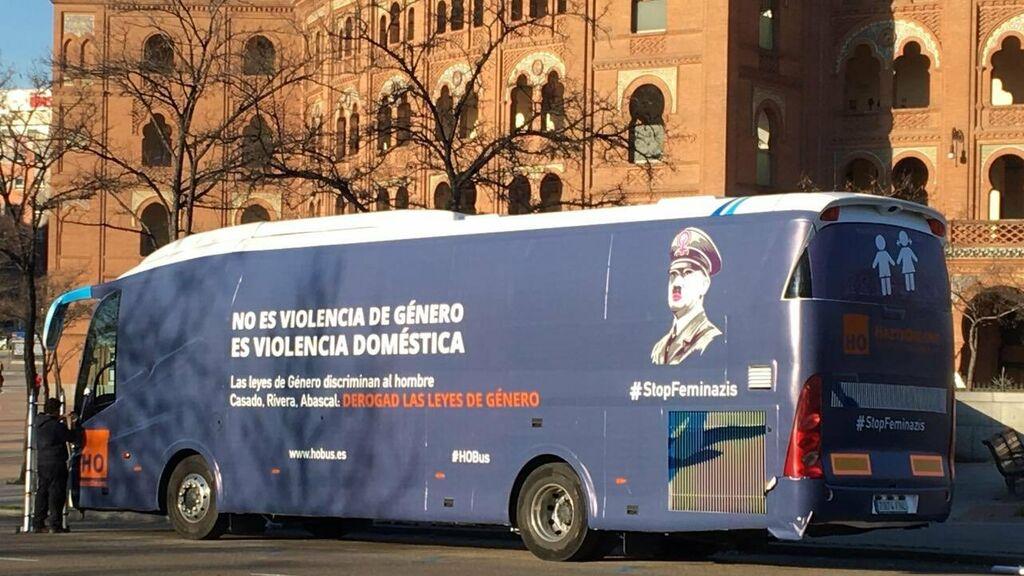 Nuevo autobús de la asociación HAZTE OIR
