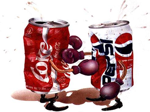 ¿Pepsi o CocaCola?